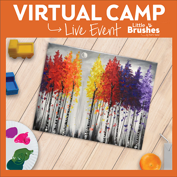 Little Brushes Painting Camp -  Vibrant Forest