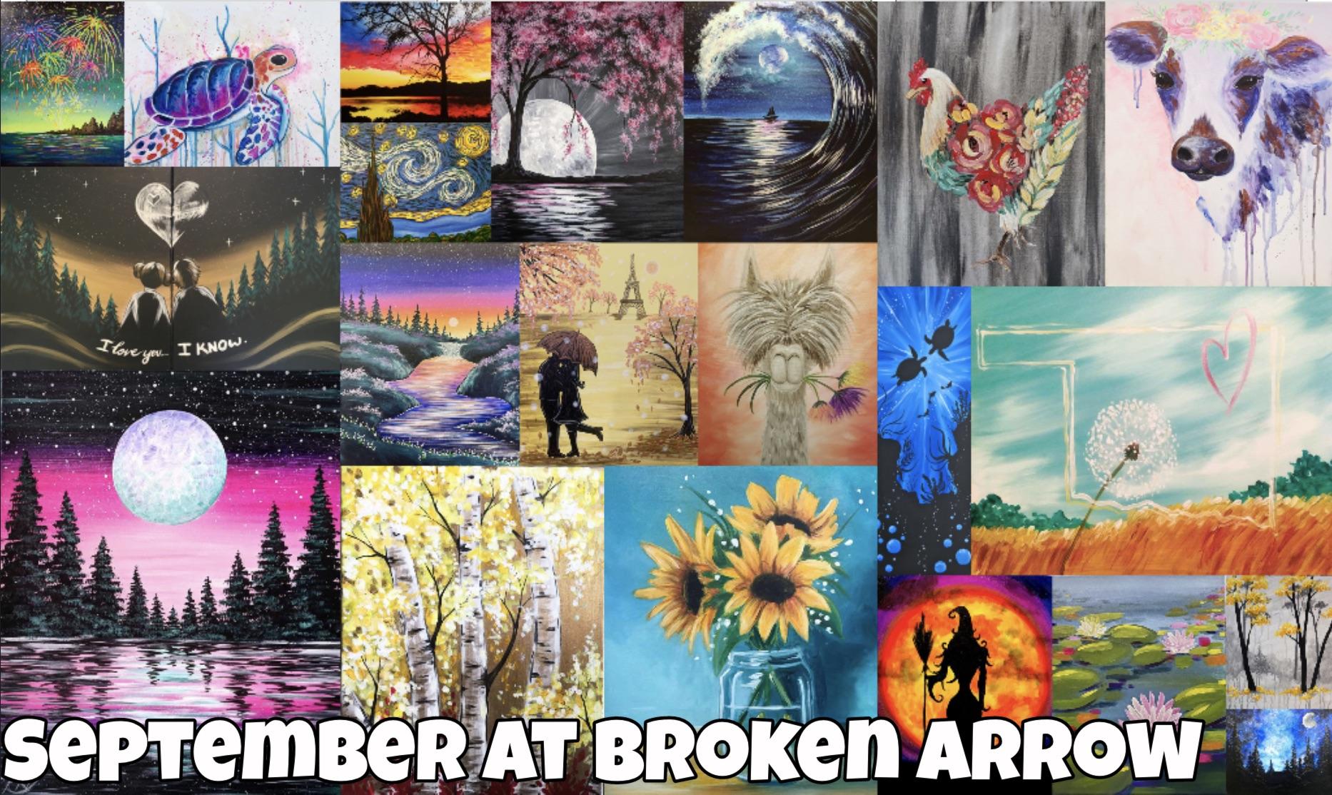 Broken Arrow's September Calendar