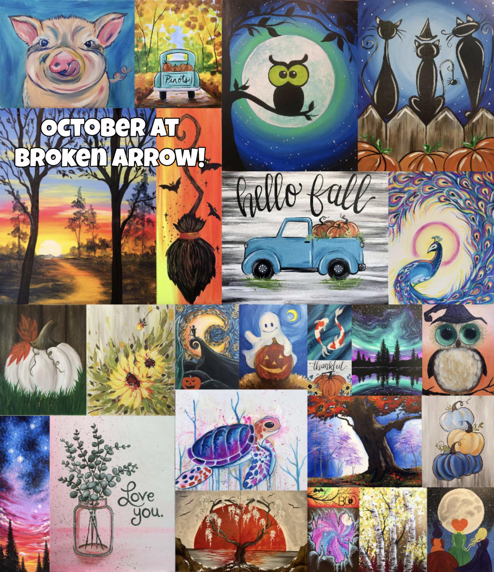 Broken Arrow October Calendar!