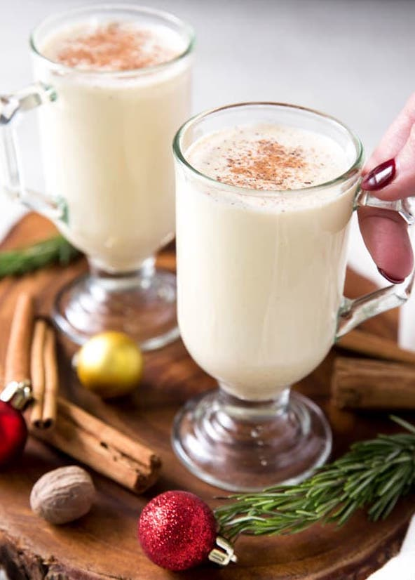Christmas Cocktail: Eggnog!
