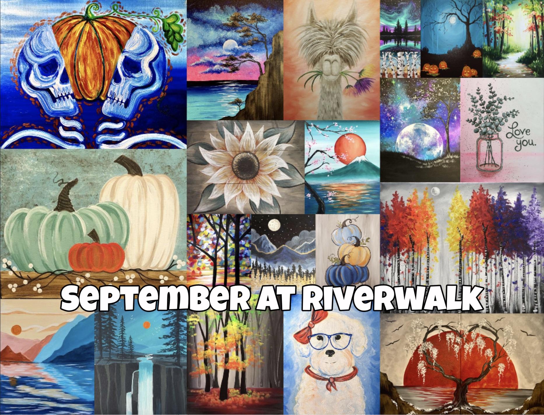 Riverwalk's September Calendar