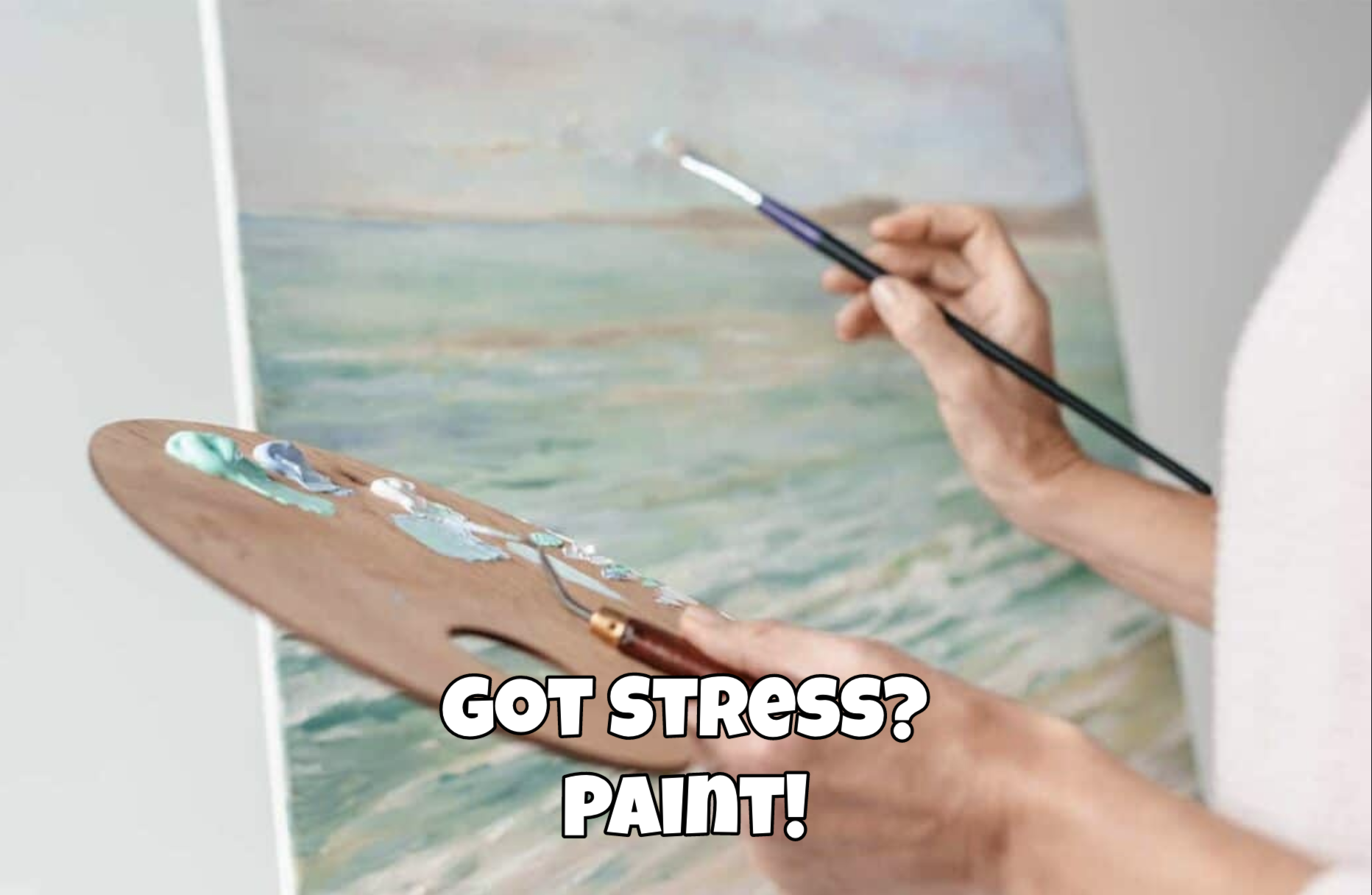 Stressed? Come paint!