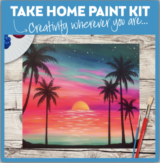 Take Home Paint Kits are available!