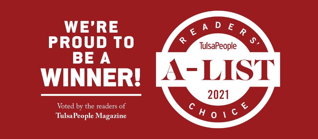TulsaPeople A-List Winner!