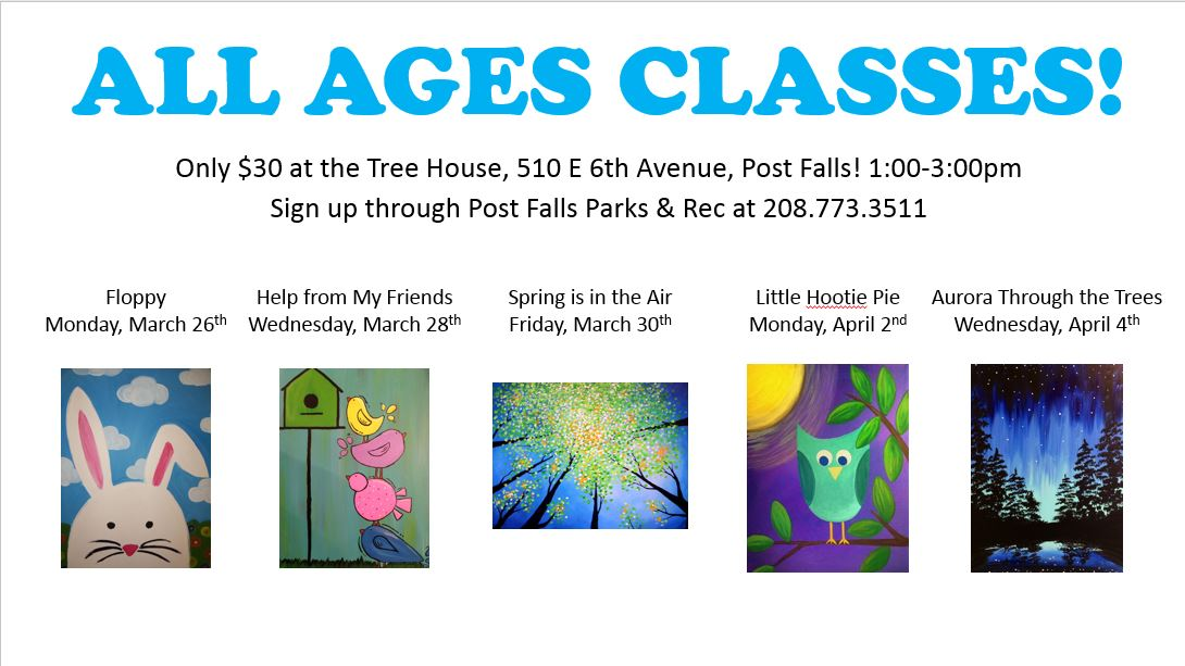 All Ages Classes!