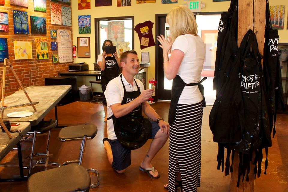 5 Reasons why you should propose at Pinot's Palette!