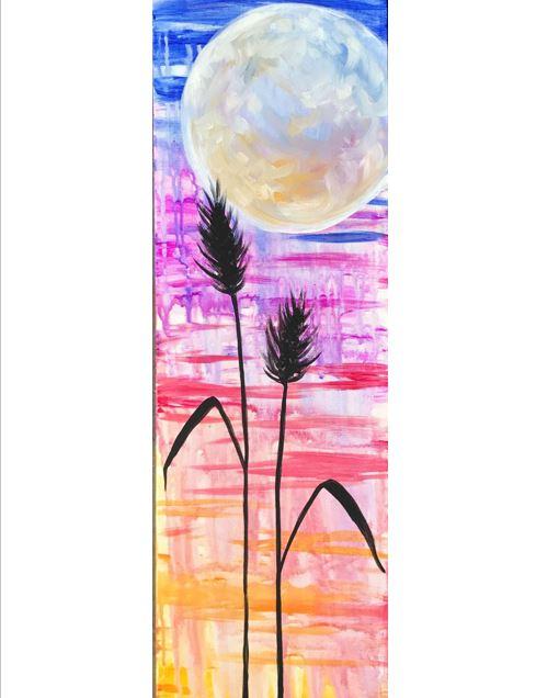 Bold Harvest Moon