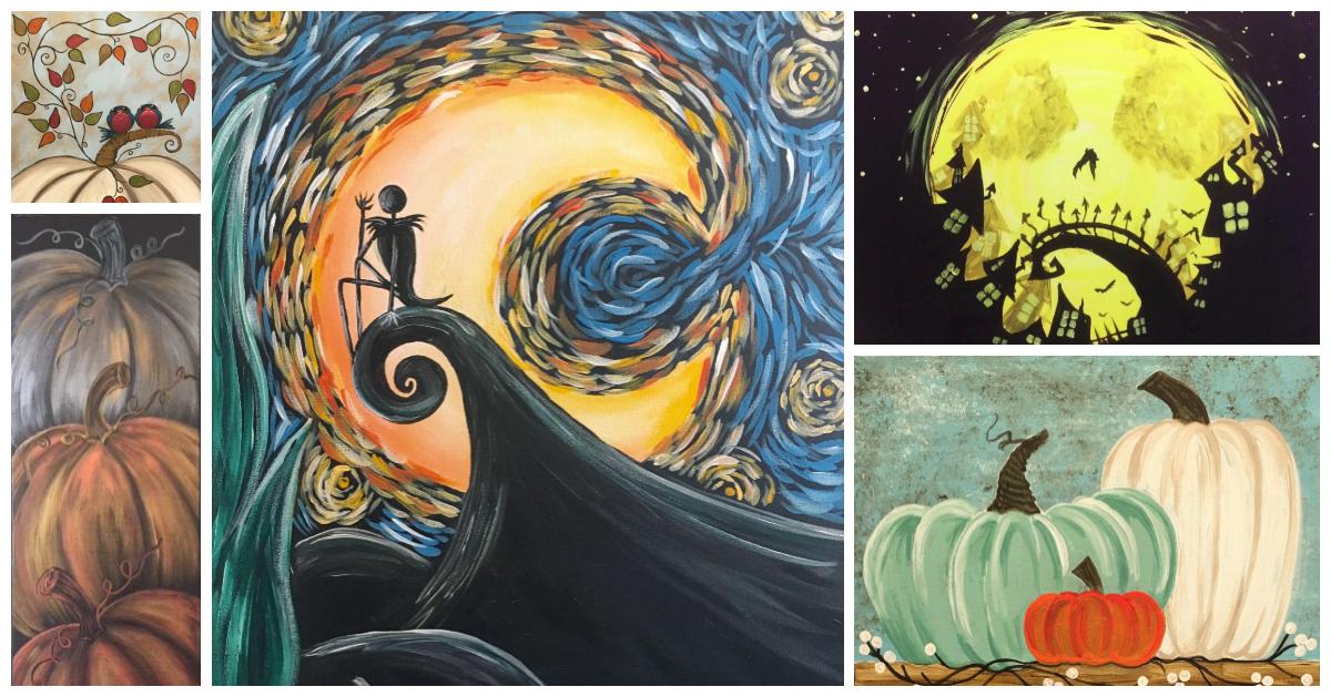 Halloween Paintings!