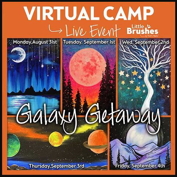 Virtual Paint Camp!