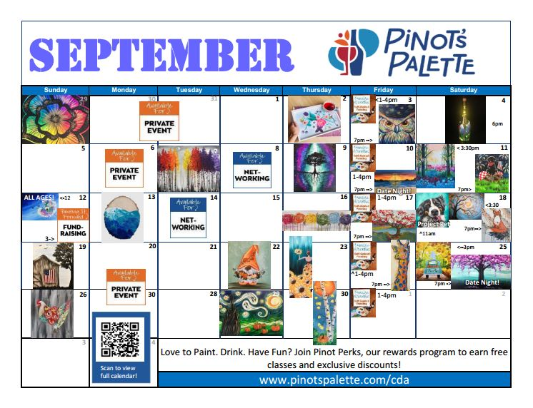 September Calendar!