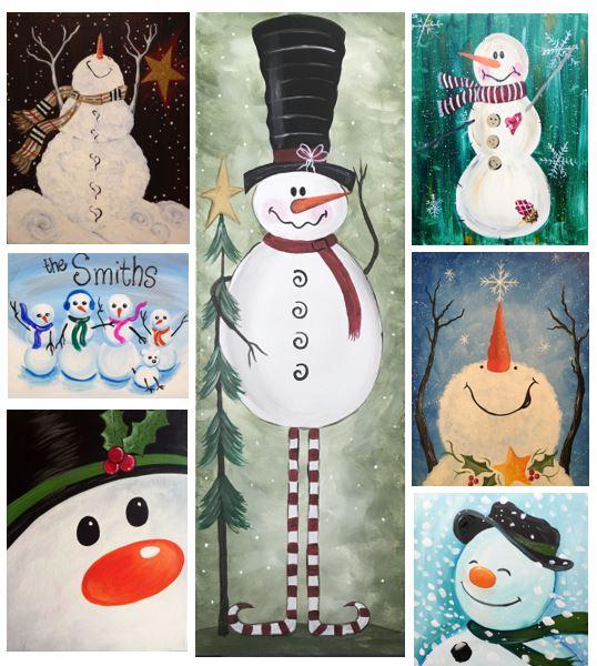 Snowmen Galore!