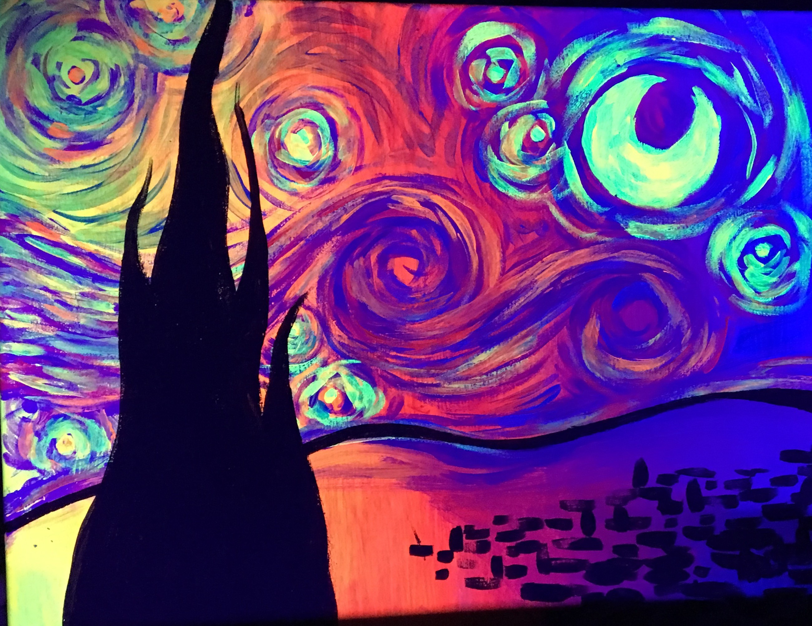 Psychedelic Starry Night - Fri, Nov 24 7PM at Champions