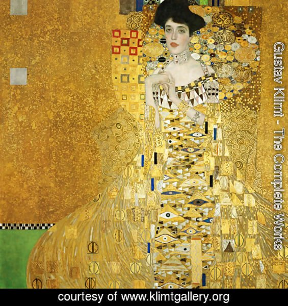 Klimt Lady in Gold