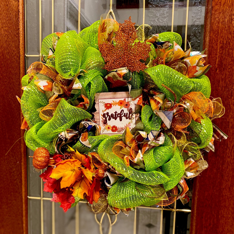 DIY - Fall Wreath Making Class