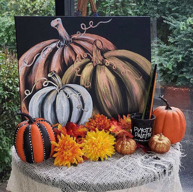 Pumpkins. Pumpkins. Pumpkins!