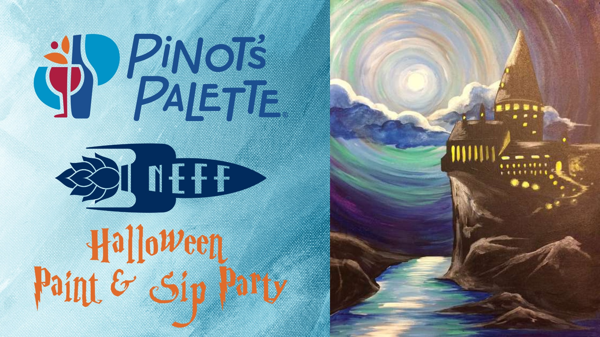Halloween Paint Party at NEFF Brewing