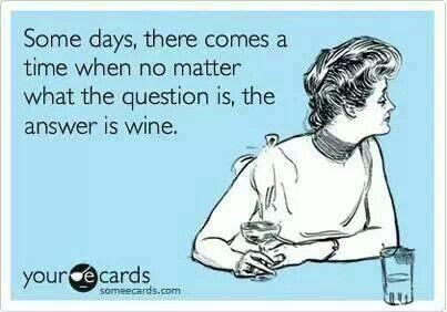 Wine, Wine Everywhere