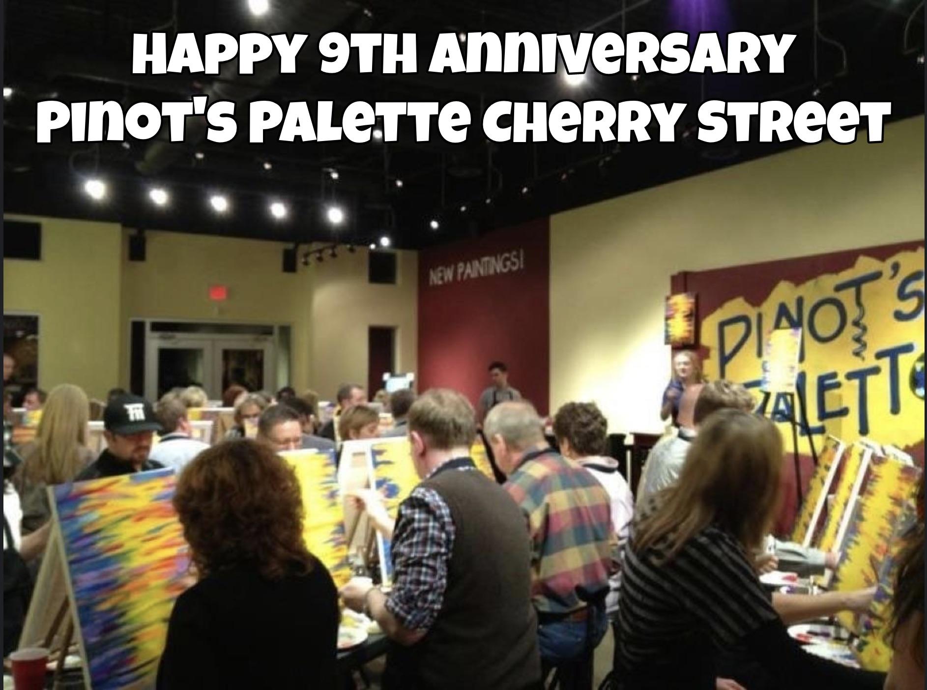 Cherry Street Celebrates 9 years!