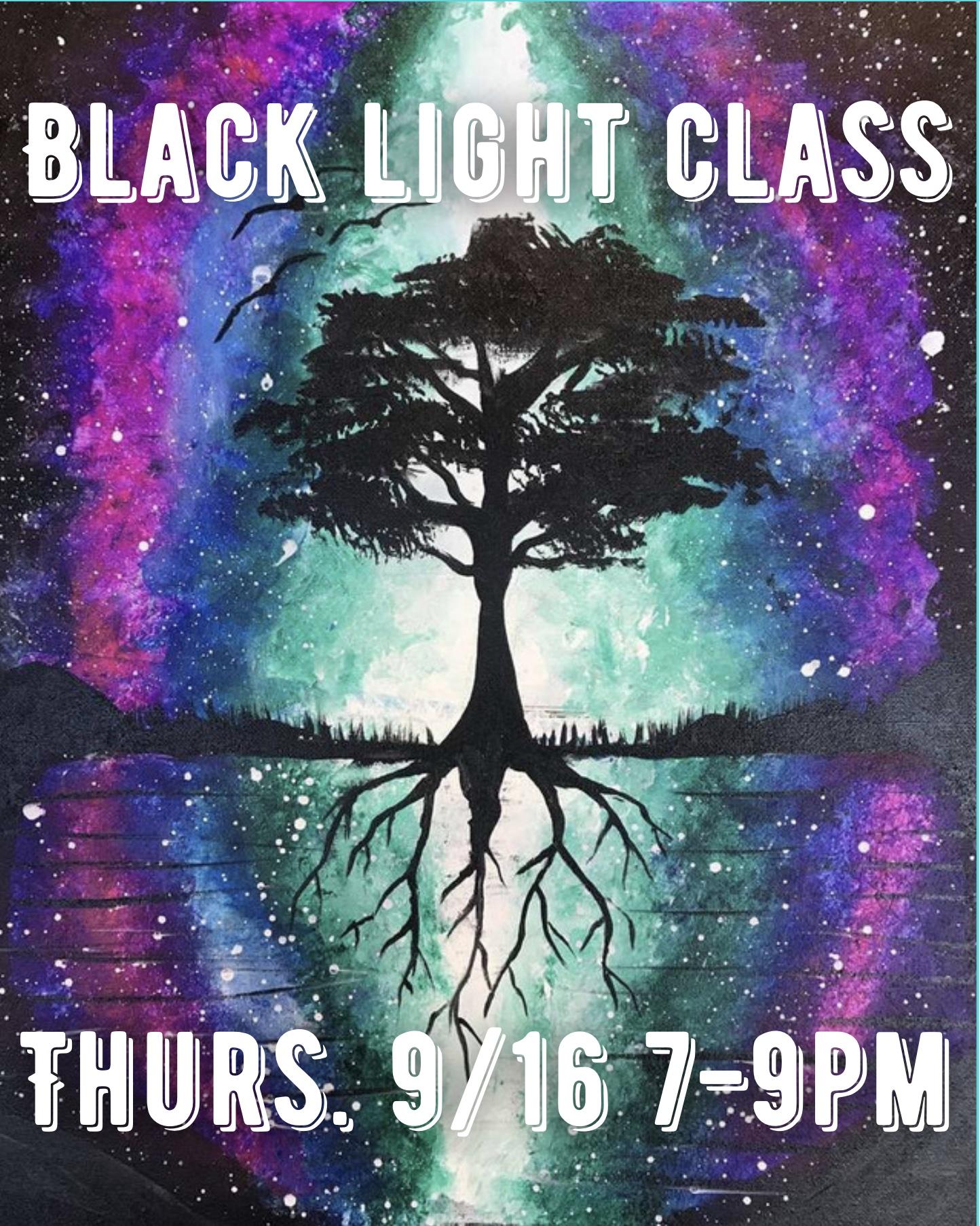 Cherry Street Black Light Class