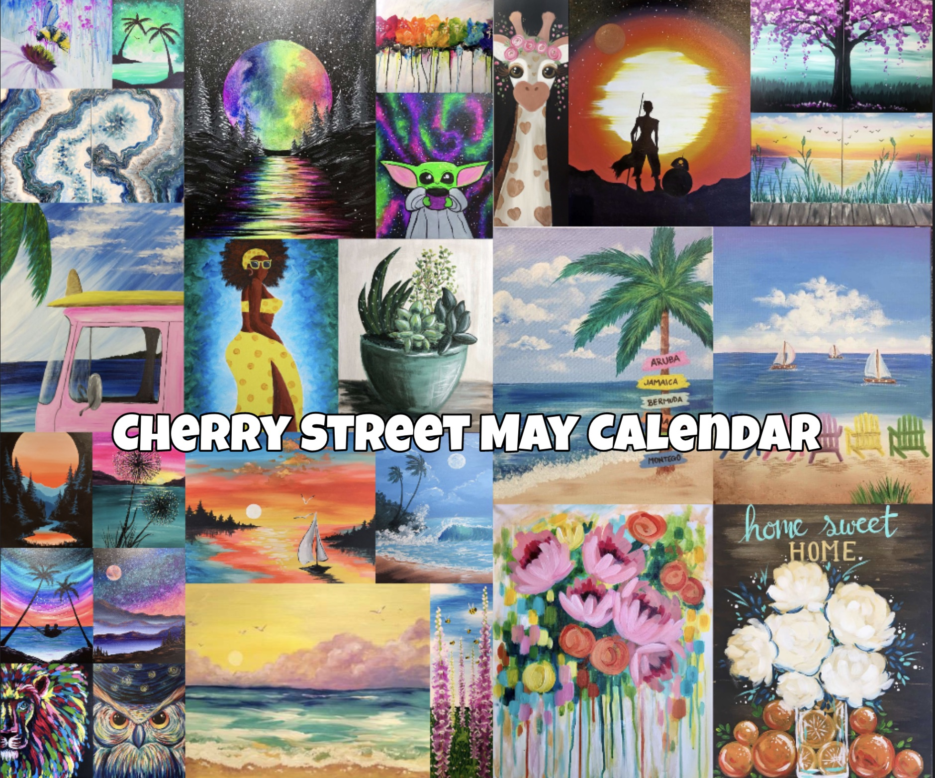 Check Out Our May Calendar