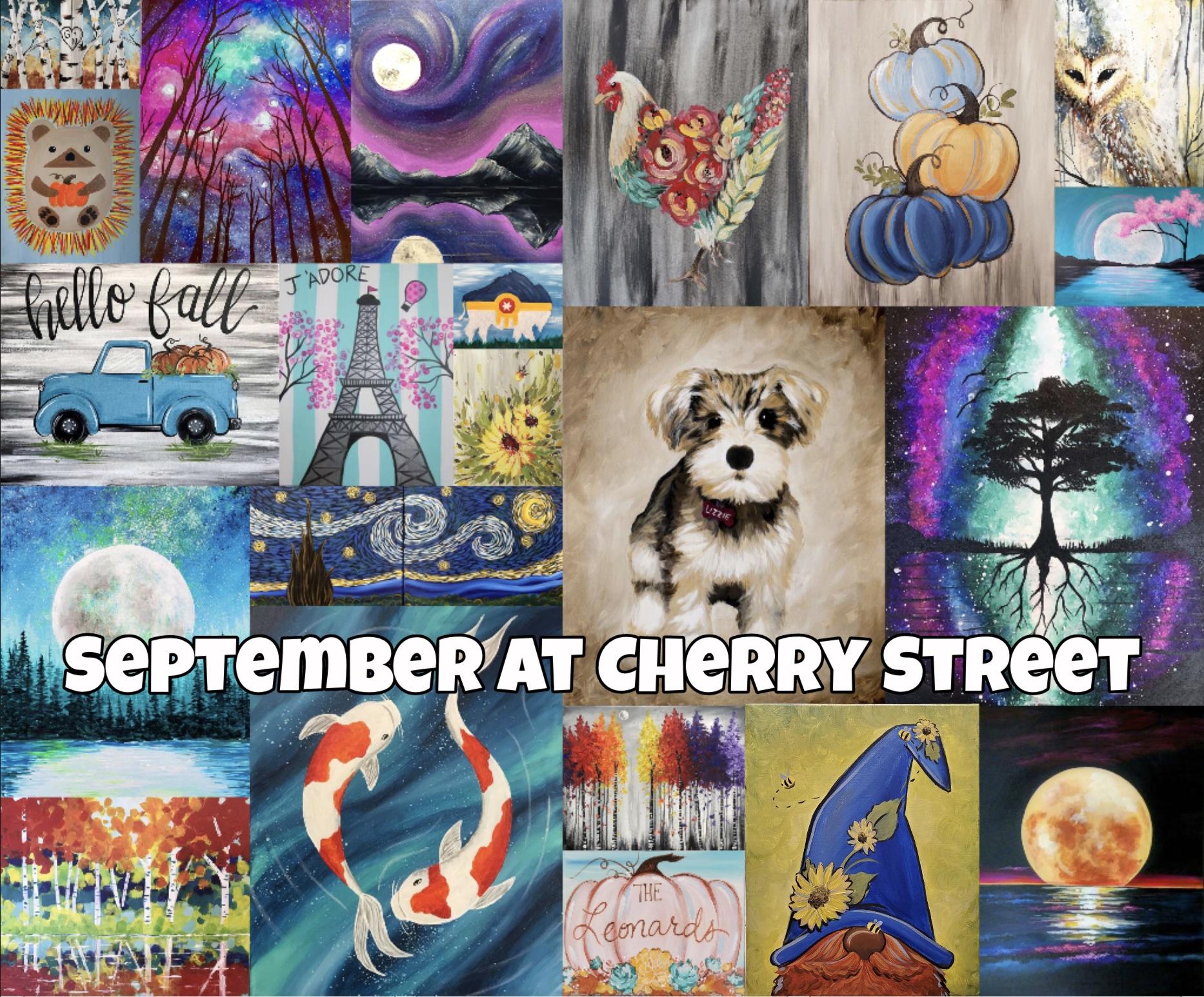 Cherry Street's September Calendar