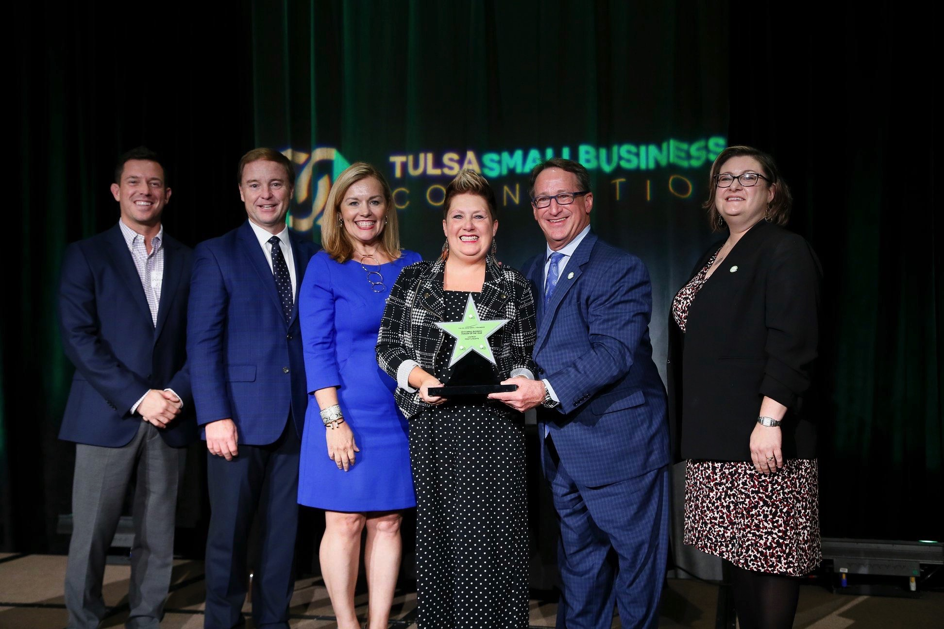 Tulsa's Premier Paint and Sip Owner Wins Tulsa's Business Person of the Year!