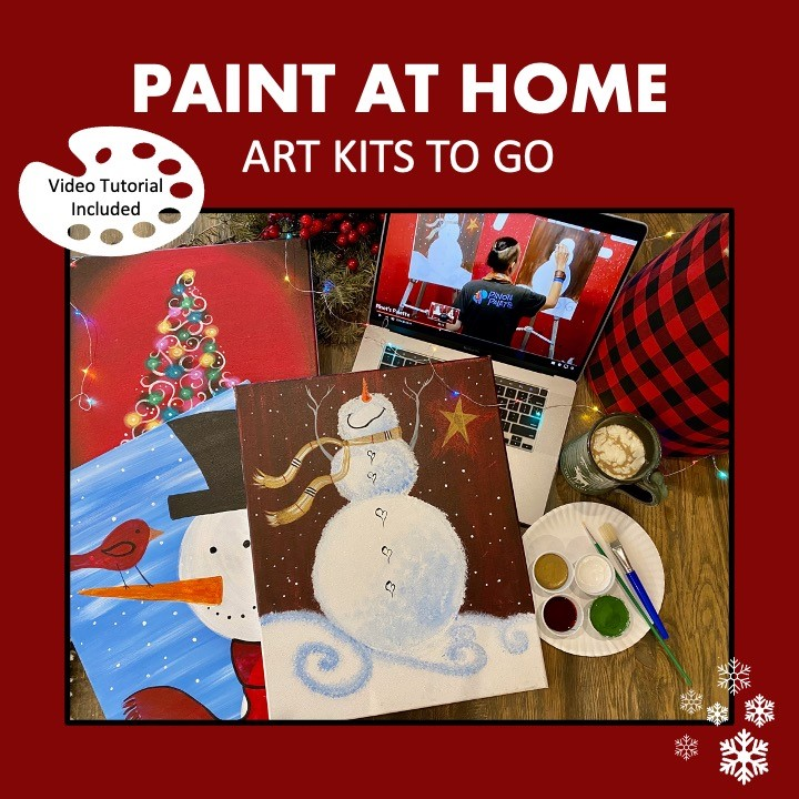 Take Home Paint Kits for Thanksgiving!