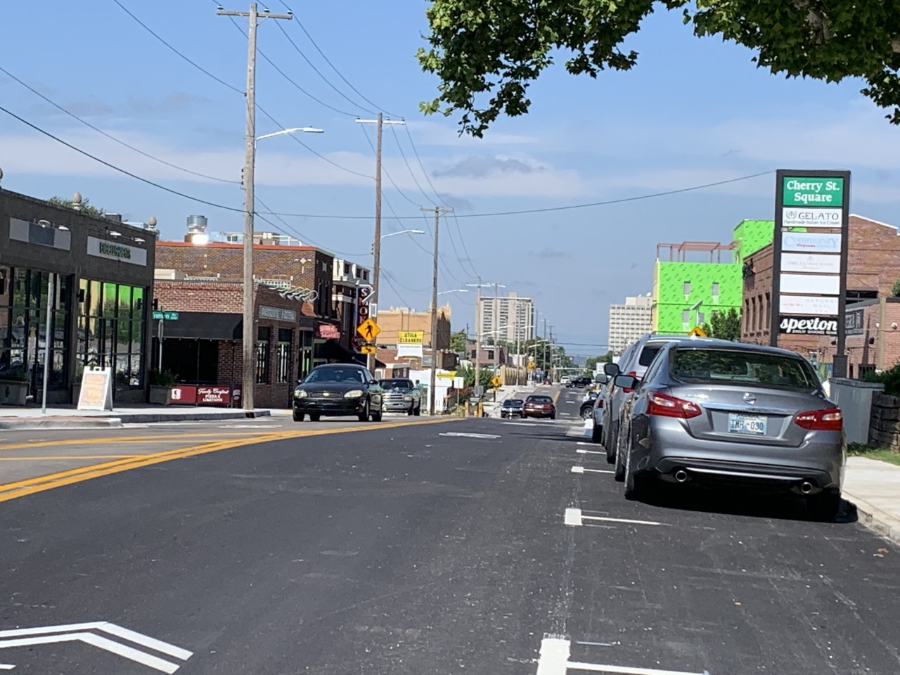 Cherry Street is now Construction-Free!