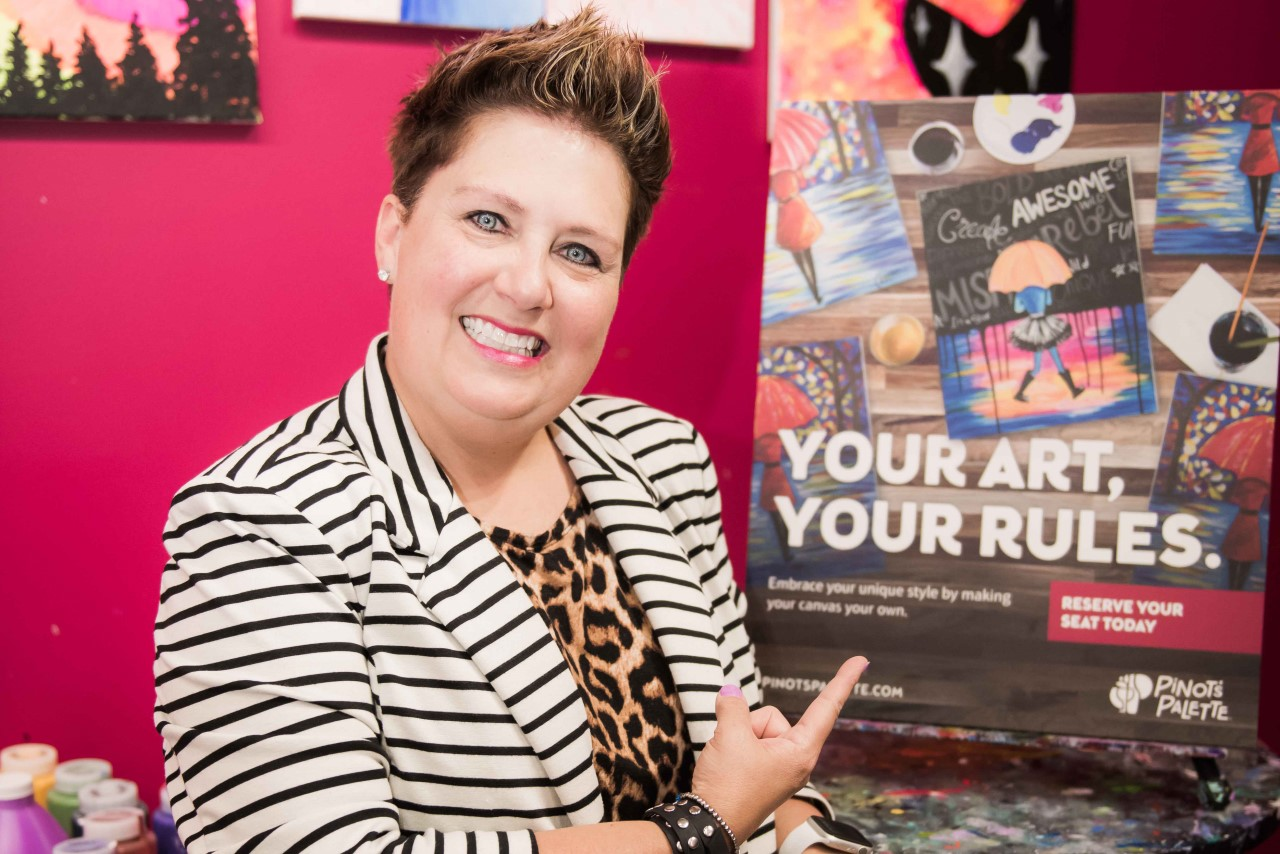 Pinot's Palette's Lisa Riley Honored!