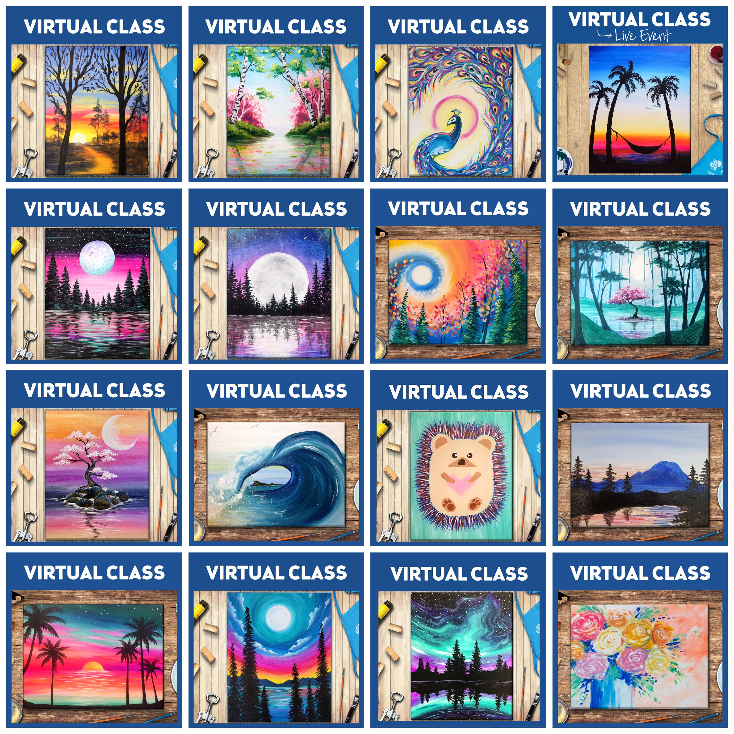 New Round of On Demand Virtual Classes Added