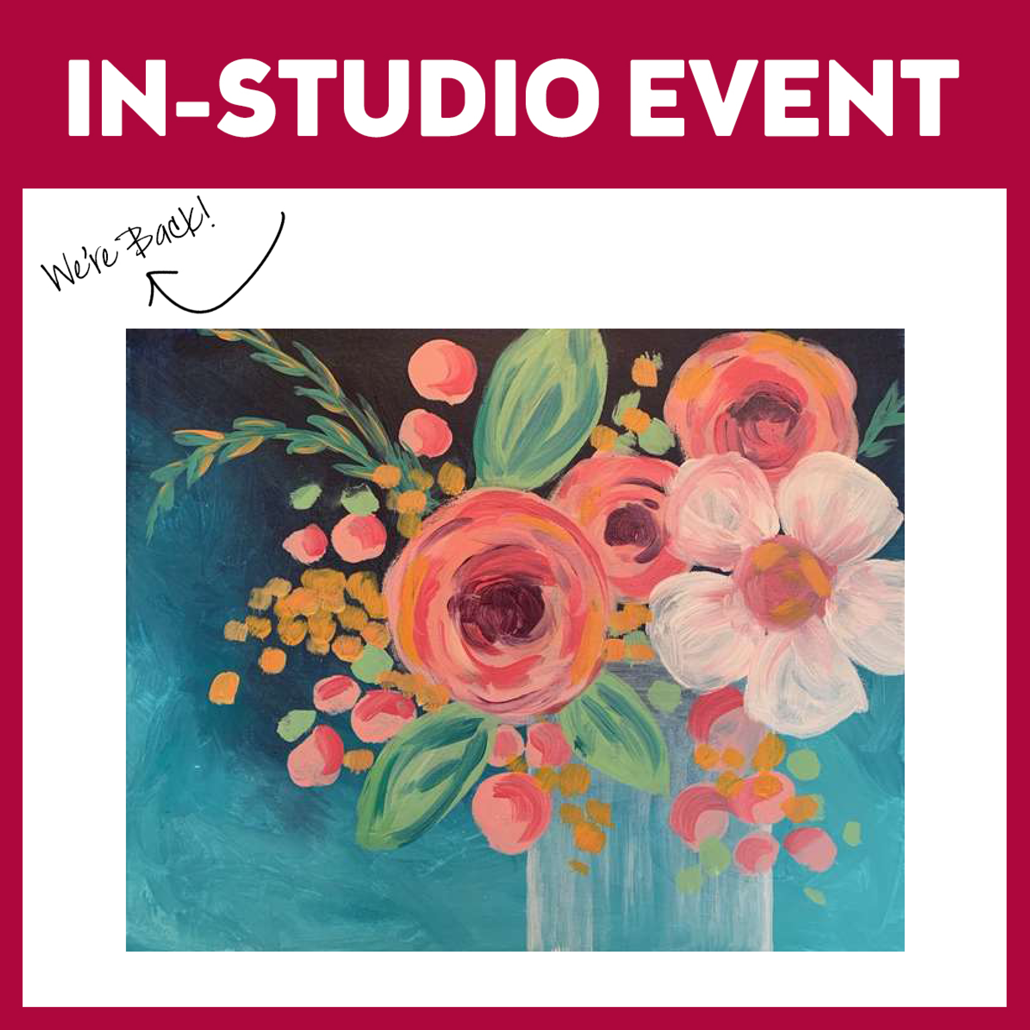 Sugar Coral Blossoms Live In Studio - Limited Seating