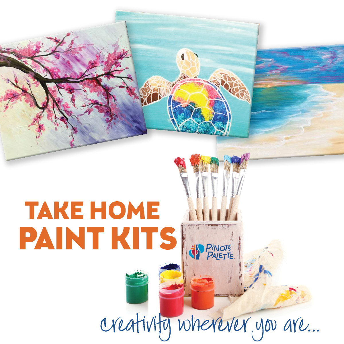 All Ages Take Home Paint Kits