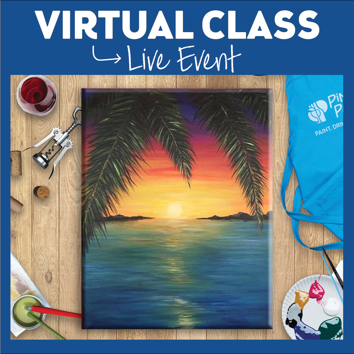New - Virtual Painting Class Experience
