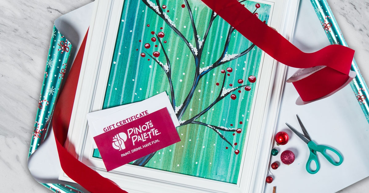 creative ways to wrap gift cards pinot s palette