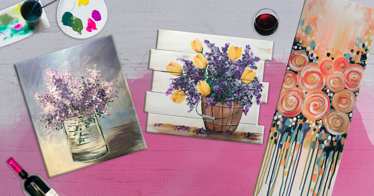 Create Memories Over Painting: A Mother's Day Your Mom Will Love