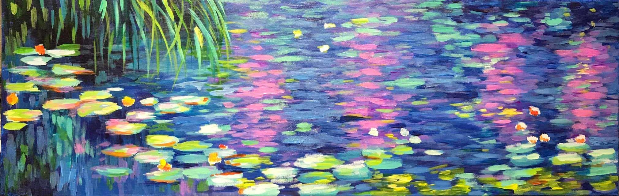 Monet's Water Lillies - April 4