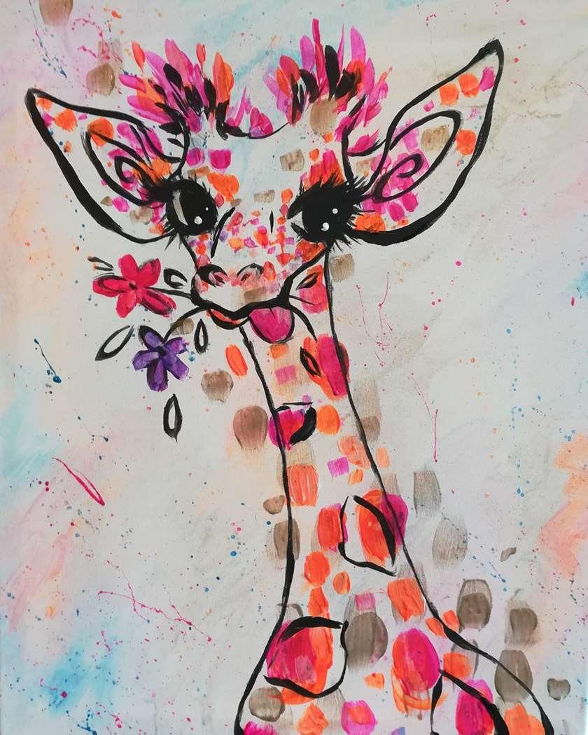 Sassy Giraffe - April 6
