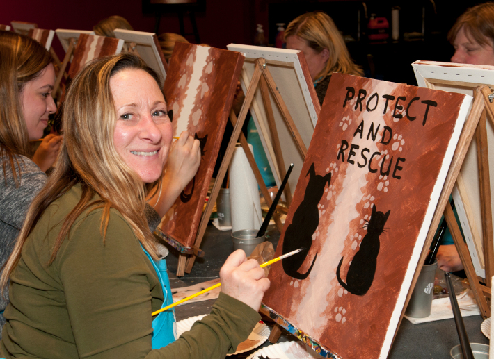 Painting it forward Bergen County Pet and Rescue