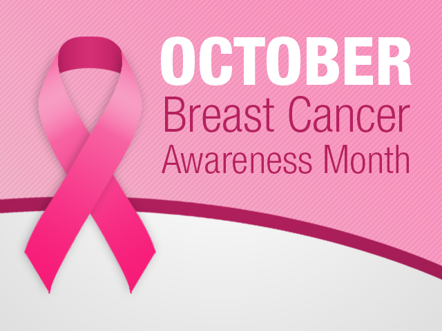 October is breast cancer