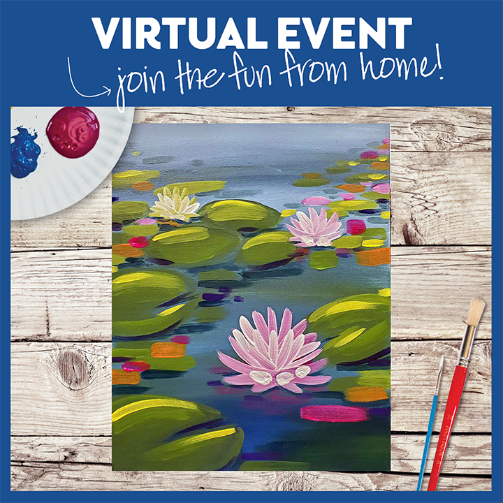 LIVE  VIRTUAL CLASS-PAINTING KIT INCLUDED