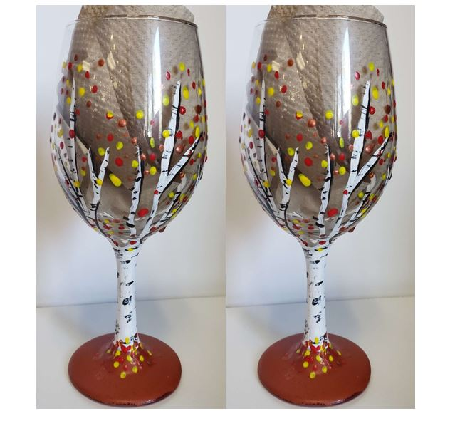 Aspens wine glass