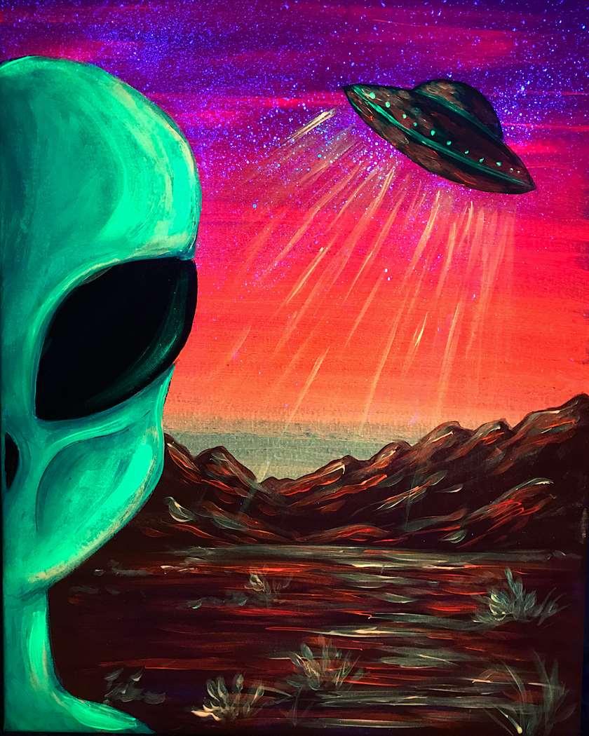 Area 51 BLACKLIGHT PARTY!