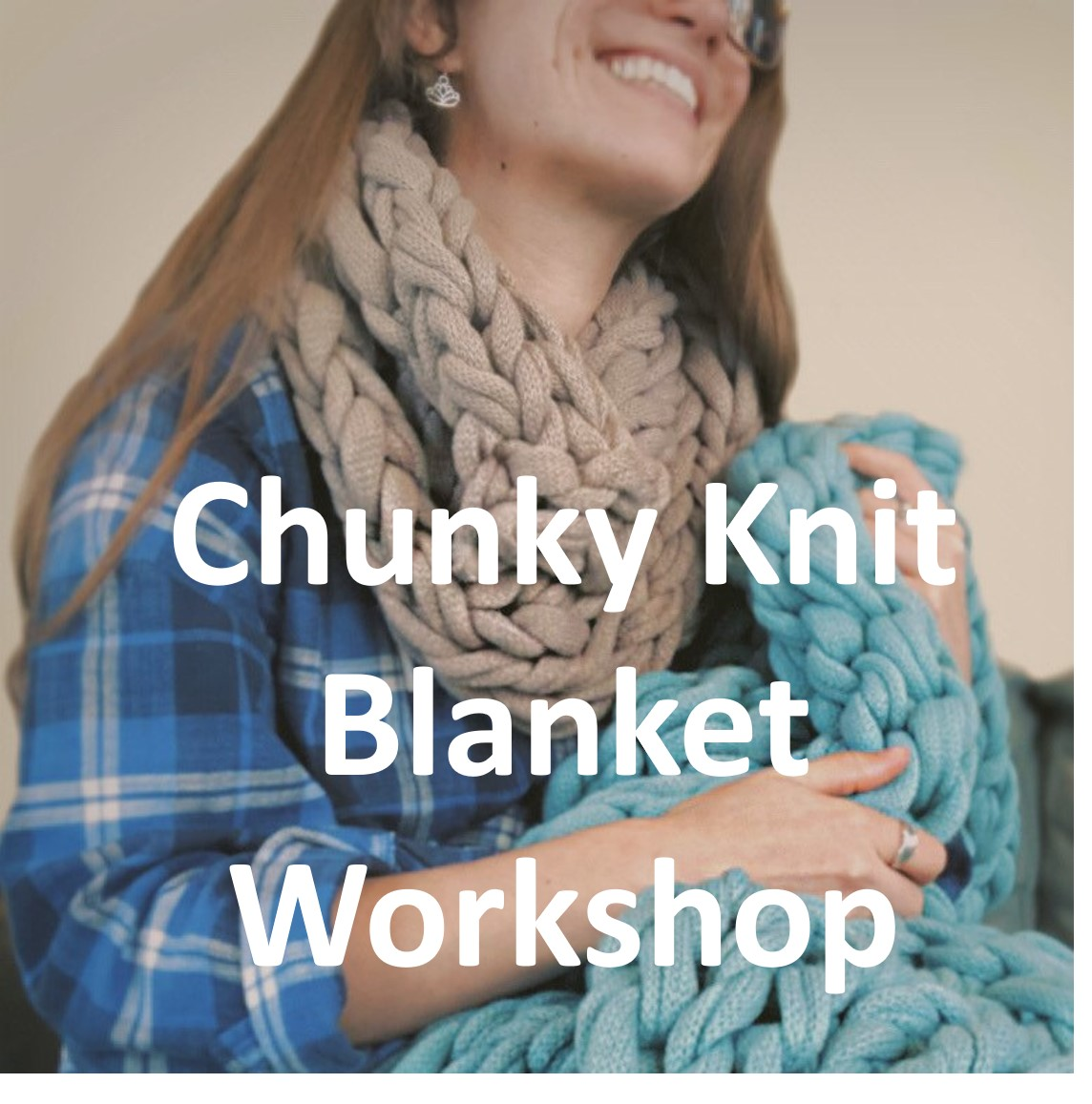 Hand-knitted Chunky Blanket - The perfect Holiday Gift!!