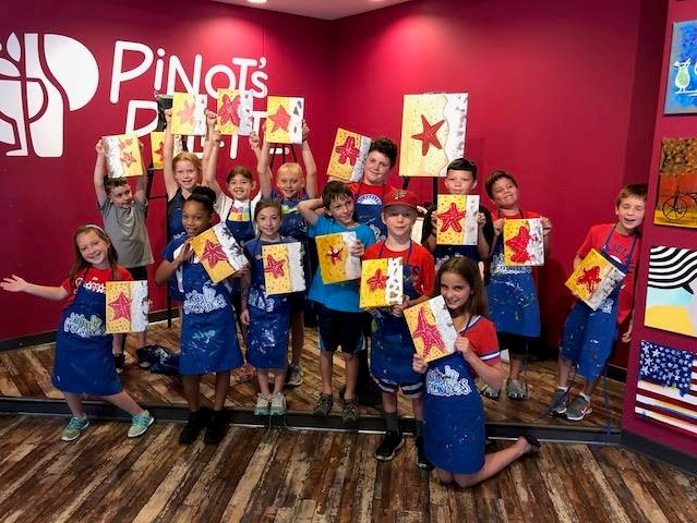 CCSA Kid's Field Trip to Pinot's Palette