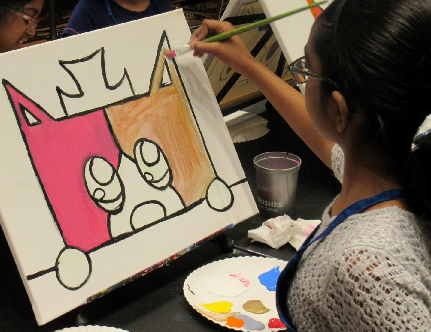 Summer Art Camp at Pinot's Palette Exton