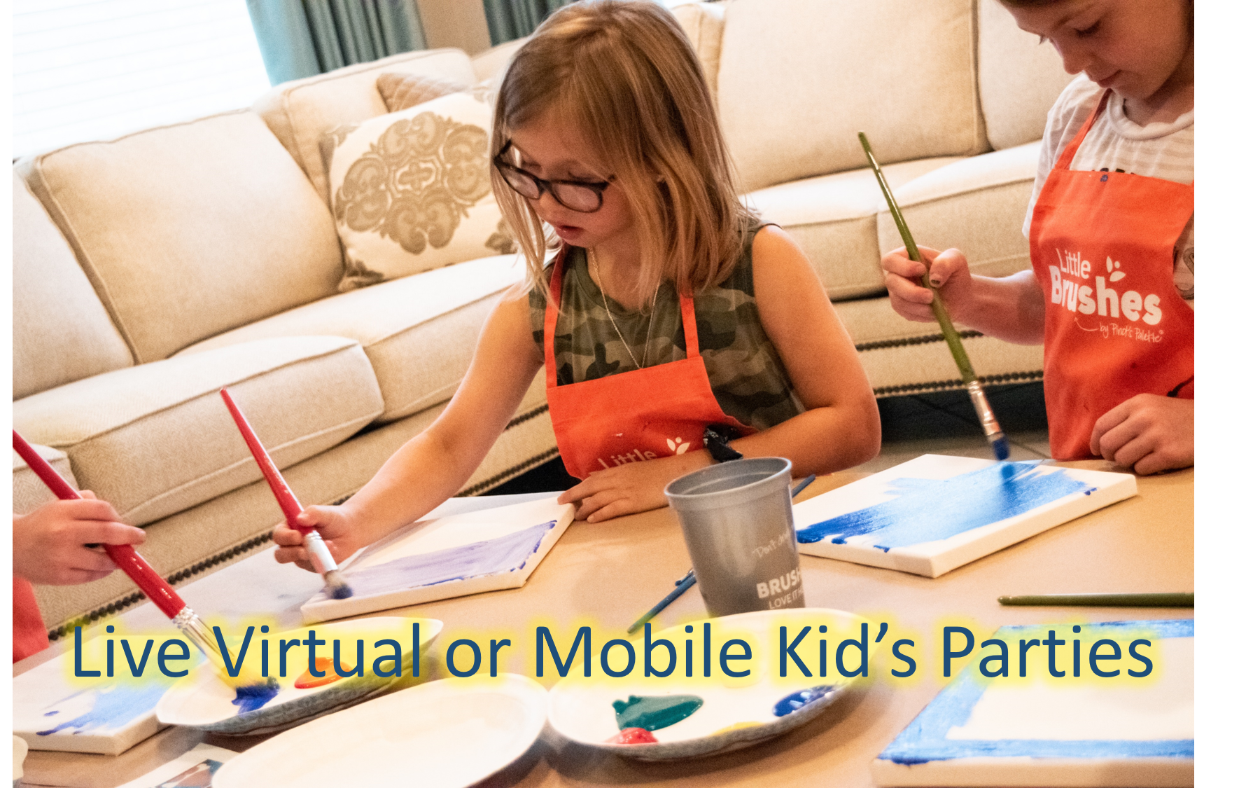 Live Virtual or Mobile Kids Parties