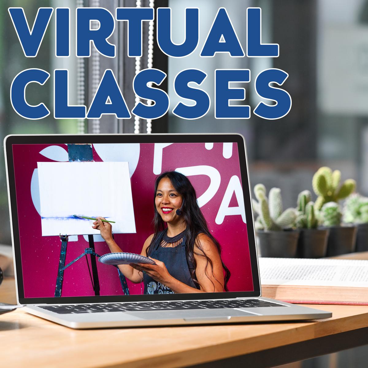 Live Virtual Painting Classes!