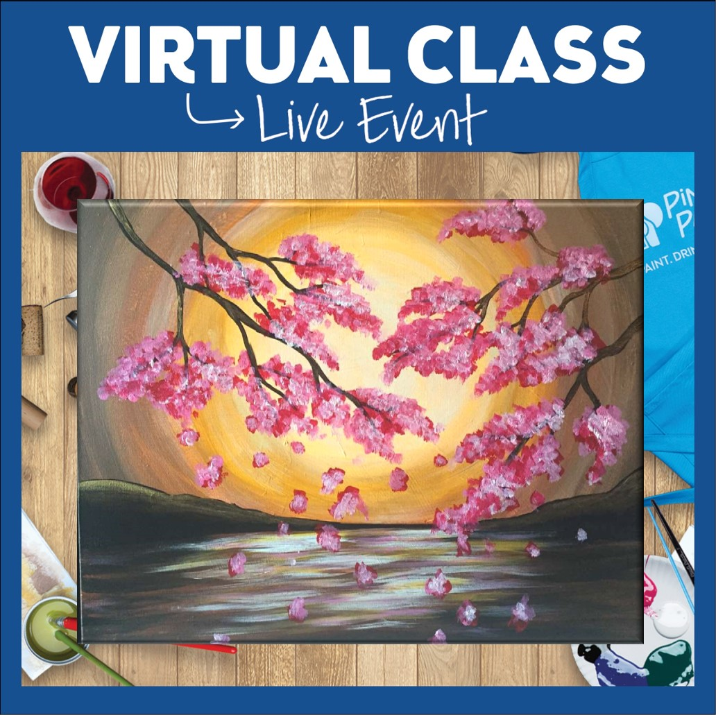 Virtual Class! Use Your Own Supplies