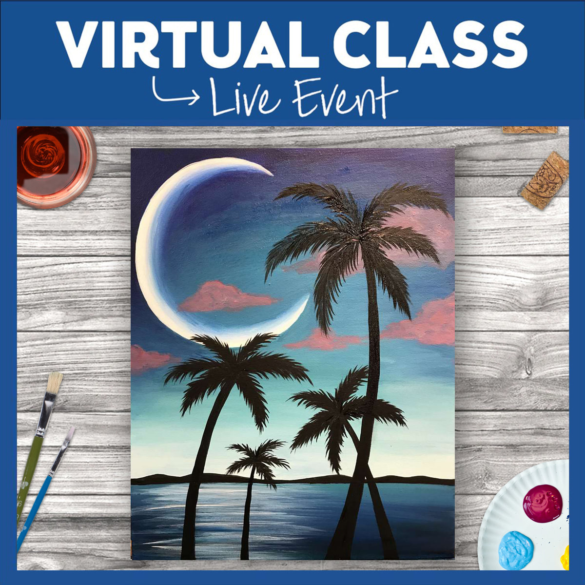 Virtual Class WITH SUPPLIES!