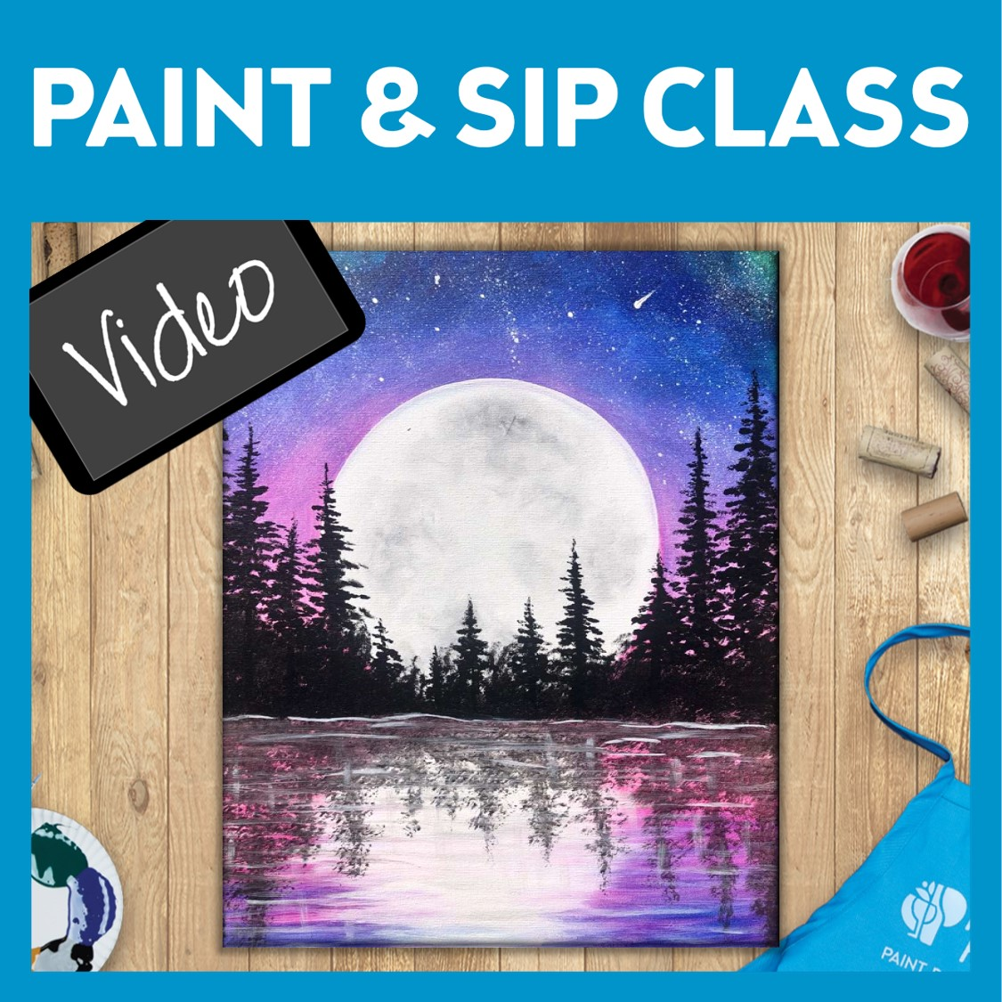 Paint and Sip Video
